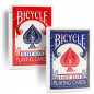 Preview: Bicycle 807 Rider Back - Old Tuck Case - Blau - altes orig. classic box Design - Pokerkarten