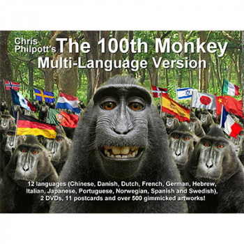 100th Monkey Multi-Language (2 DVD Set with Gimmicks) by Chris Philpott