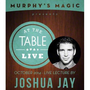 At the Table Live Lecture - Joshua Jay 10/8/2014 - Video - DOWNLOAD