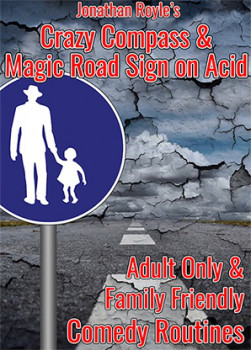 The Crazy Compass & Magic Road Sign on Acid by Jonathan Royle - Mixed Media - DOWNLOAD