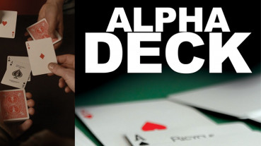 Alpha Deck by Richard Sanders - Kartentrick