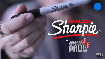 Amazing Sharpie Pen - Blau - by James Paul - Zaubertrick