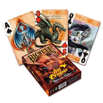 Anne Stokes Age of Dragons - Bicycle Pokerdeck