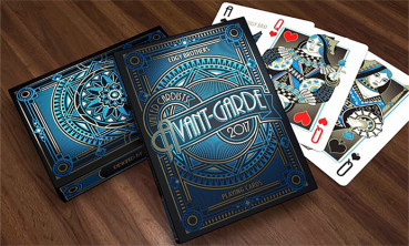 Avant Garde Blue by Edgy Brothers - Pokerdeck