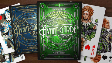 Avant Garde Green by Edgy Brothers - Pokerdeck
