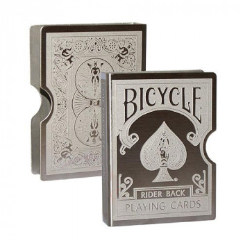 Kartenklammer - Card Clip - Card Guard - Bicycle Rider Back