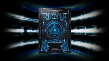 Bicycle Evolution Deck - Blau - Pokerdeck