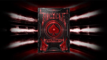 Bicycle Evolution Deck - Rot - Pokerdeck