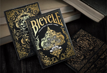 Bicycle Spirit II Black - Pokerdeck