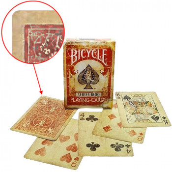 Bicycle Vintage 1800 - Markierte Karten - Pokerdeck