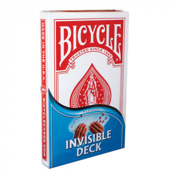 Invisible Deck - Jumbo - Rot - Bicycle
