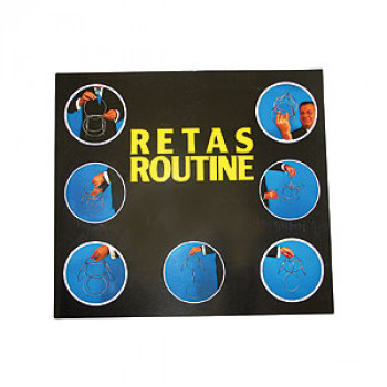 Linking Rings Retas Routine - Ringspiel Buch