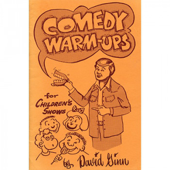 Comedy Warm-ups by David Ginn - Eisbrecher - eBook - DOWNLOAD