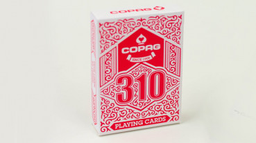 Copag 310 Playing Cards - Rot - Pokerdeck