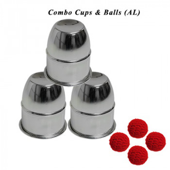 Cups and Balls with Chop Cup Combo by Premium Magic - Becherspiel