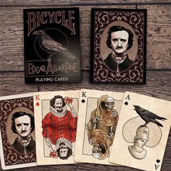 Edgar Allan Poe - Bicycle Deck