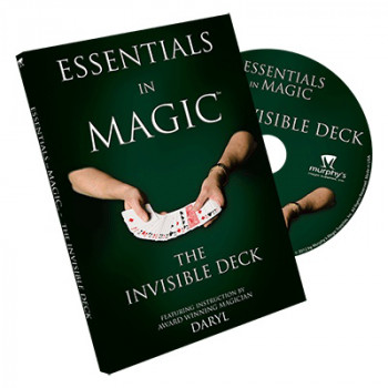 Essentials in Magic Invisible Deck - DVD - Kartentricks mit Invisible Decks