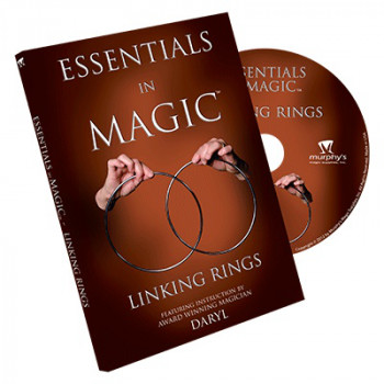 Essentials in Magic Linking Rings - DVD - Zaubertricks mit dem Ringspiel
