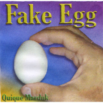 Fake Ei - Kunststoff Ei - Vanishing Egg Trick by Quique Marduk