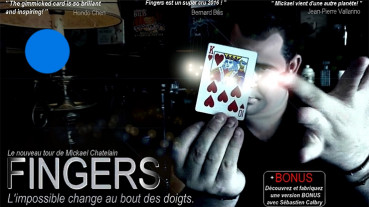 Fingers by Mickael Chatelin - Blau - Kartentrick