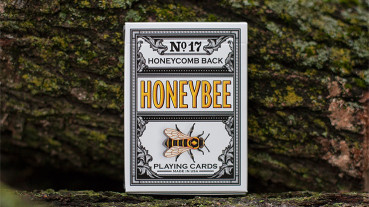 Honeybee V2 Playing Cards Black - Pokerdeck