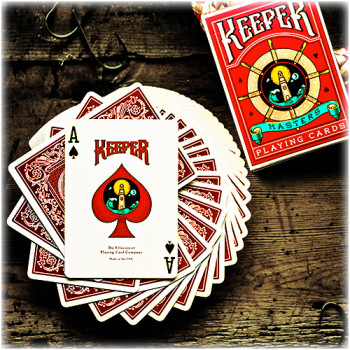 Keeper Deck - Rot - Pokerdeck