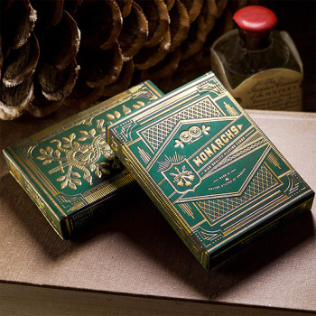Monarchs Deck Green by Theory 11 - Pokerdeck