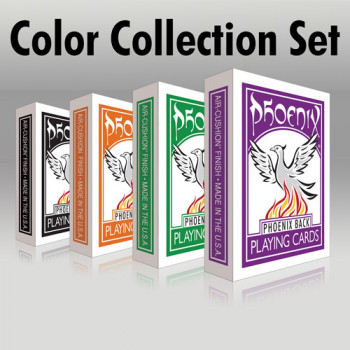 Phoenix Deck - Color Edition Collection Set - Pokerdecks