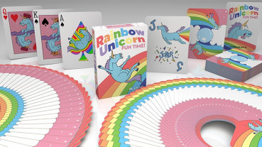 Rainbow Unicorn Special Edition Playing Cards - Pokerdeck