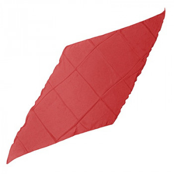 Seidentuch - Dreieckstuch - Rot - 45cm - Diamond Silk