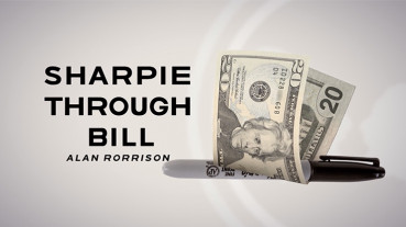 Sharpie Through Bill by Alan Rorrison and SansMinds - Stift durch Geldschein Zaubertrick