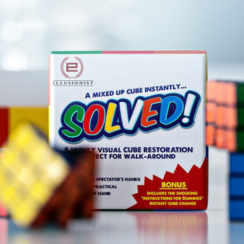 Solved by Adam Wilber - Zaubertrick