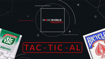 TACTICAL by Magicworld - Blau - Tic Tac Zaubertrick