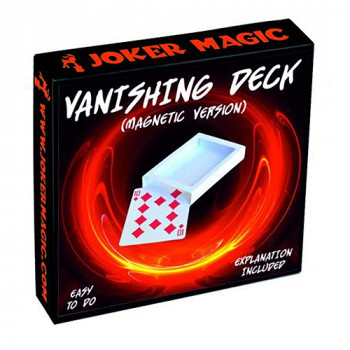 Verschwindendes Kartenspiel - Magnetisch - Vanishing Deck (magnetic) by Joker Magic