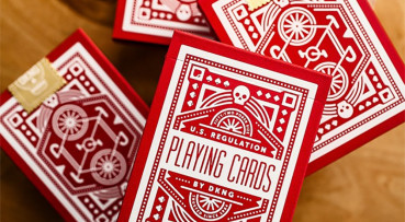 Wheel Playing Cards by Art of Play - Rot - Pokerdeck