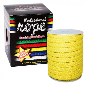 Zauberseil Gelb - Professional Rope - 100% Cotton