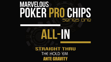Marvelous Poker Chips - All In - Series One by Matthew Wright - Zaubertrick
