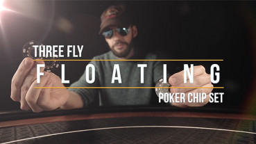 Marvelous Poker Chips - Ante Gravity - Floating 3 Fly Chip Routine by Matthew Wright