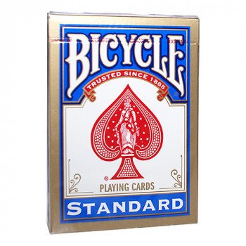 Bicycle 808 Rider Back - Blau - Standard Pokerkarten