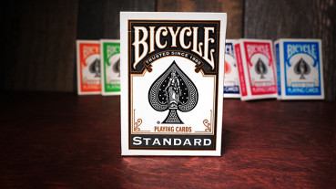 Bicycle Black Playing Cards by USPC - Schwarz Deck
