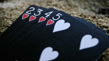 Bicycle Ghost Deck 2nd Edition - Black