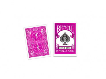 Bicycle 808 Rider Back - Fuchsia