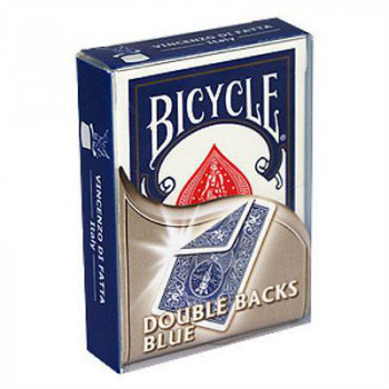 Gaff Deck Bicycle Doppelrücken - Blau/Blau - double back