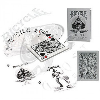 Bicycle Ghost Deck - White