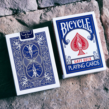 Bicycle Glory Gaff Deck - Blau - Trickkarten