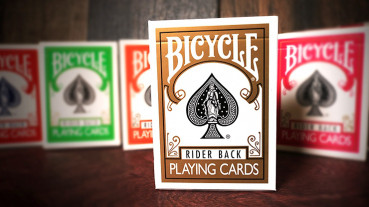 Bicycle Gold Playing Cards by USPC - Gold Deck