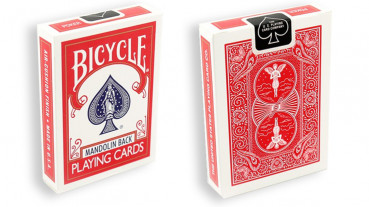 Bicycle Mandolin 809 Deck - Rot