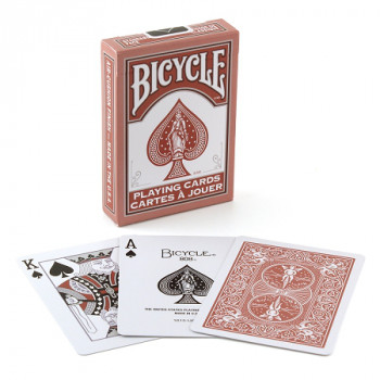 Marsala & Daybreak - Rot - Bicycle Deck