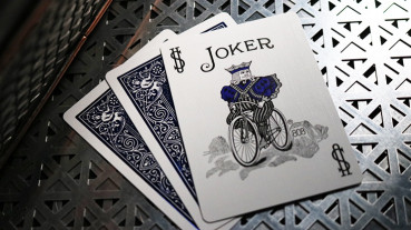 Bicycle Cobalt Luxe Version 2 by USPCC - Blau - Metalluxe Pokerdeck