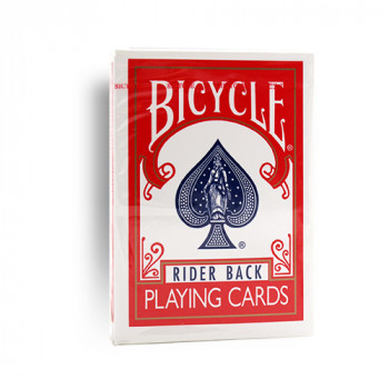 Bicycle 807 Rider Back - Old Tuck Case - Rot - altes orig. classic box Design - Pokerkarten